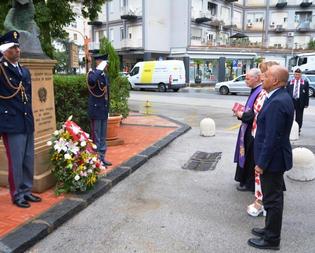 La Questura di Caltanissetta ricorda i poliziotti Salvatore Falzone e Michele Pilato, nel quattordicesimo anno della loro scomparsa