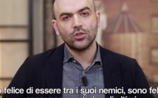 Il messaggio di Saviano a Salvini: