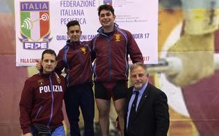 Pesistica, due atleti della Polizia di Stato di Caltanissetta parteciperanno ai Campionati Europei Under 17