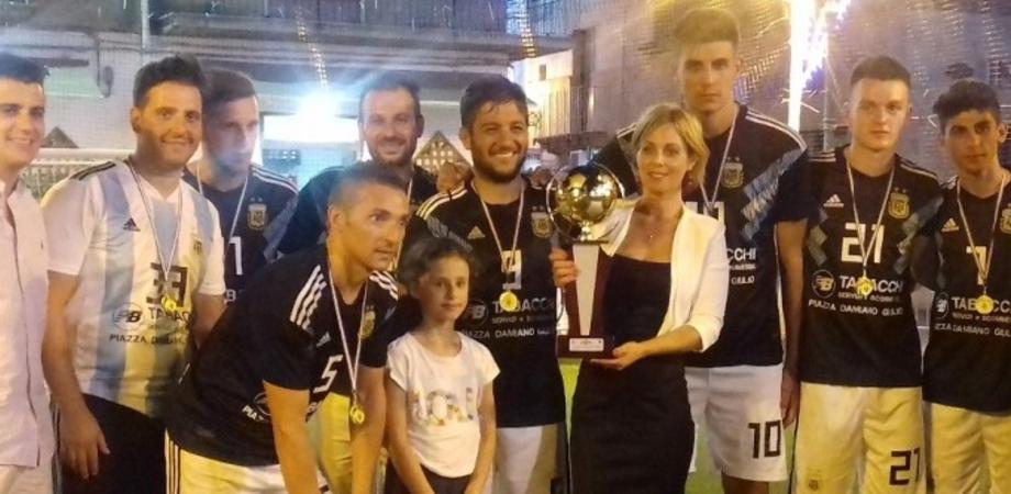 Niscemi, la squadra della piazza vince il torneo interquartiere di calcio a 5