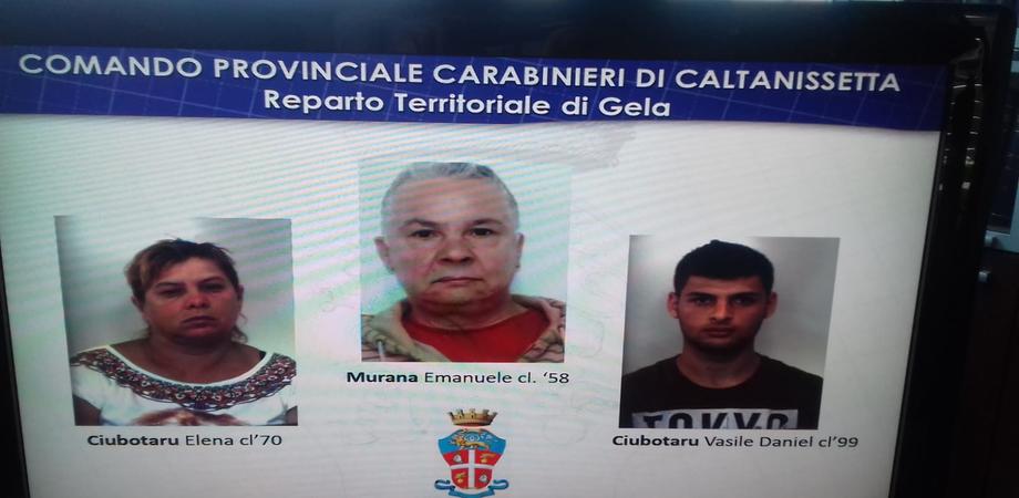 Gela, raggiravano anziani e si impossessavano dei loro soldi: arrestate tre persone