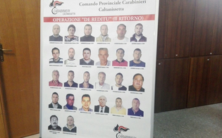 Riesi, sgominato il clan Cammarata: eseguiti venticinque arresti