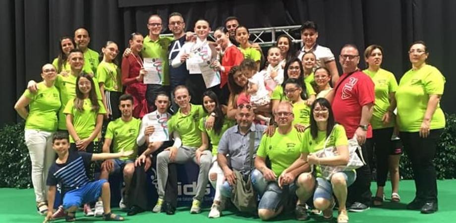 Gela, danza sportiva: ai campionati italiani trionfano gli atleti della Lion's Dance
