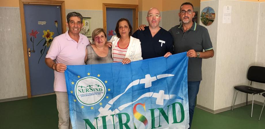 """Nursind, nuovi vertici sindacali all'ospedale di Mussomeli: """"Subito un incontro con l'azienda per discutere i problemi"""""""