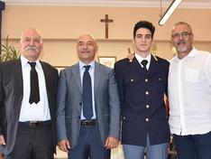 Caltanissetta, una generazione di poliziotti: 20enne presta giuramento alla presenza di nonno e papà