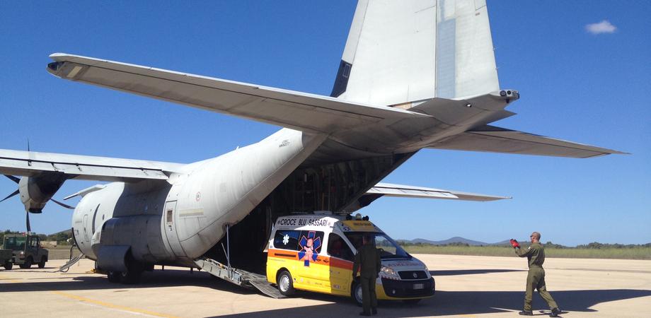Volo militare da Catania a Roma per salvare una bimba di 4 mesi