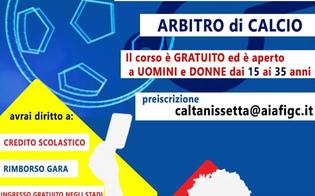 A Caltanissetta un corso per diventare arbitri di calcio