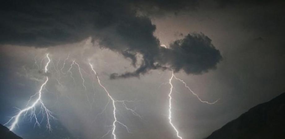 Maltempo al Sud, oggi prevista pioggia e grandine in Sicilia: è allerta gialla