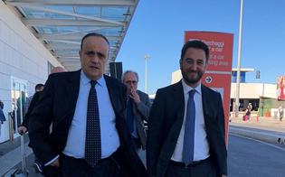 Il Ministro dei Beni Culturali Bonisoli a Caltanissetta per l'inaugurazione della mostra sulla Real Maestranza