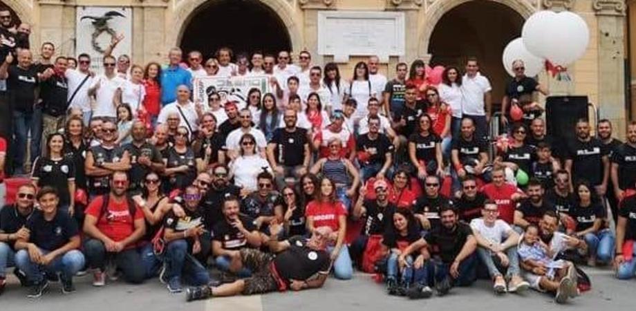 Niscemi, oltre 200 motociclisti al primo