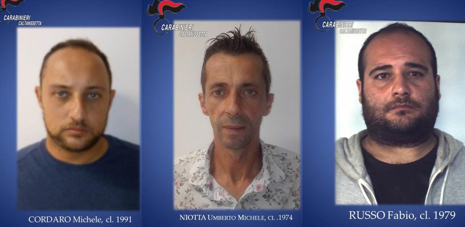 Caltanissetta. Uno ricercato, uno condannato e un altro si costituisce: tre arresti dei carabinieri