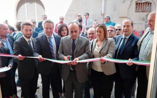 Il ministro Alberto Bonisoli a Caltanissetta: