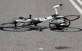 Caltanissetta, incidente per un ciclista: trasportato in codice rosso al Sant'Elia