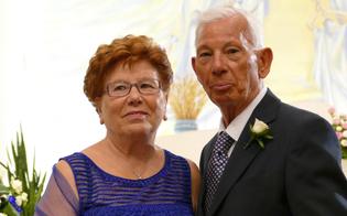 Caltanissetta, insieme da 60 anni: nozze di Diamante per Michele e Angela