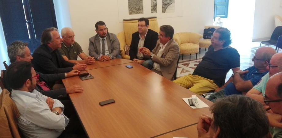 Calcio, il sindaco Ruvolo incontra dirigenza e imprenditori per sostenere il progetto della Nissa