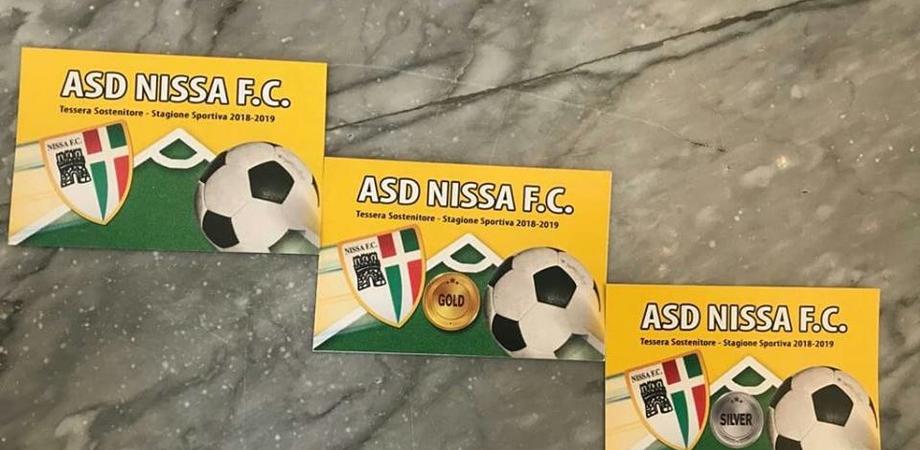 """Al via la campagna """"Forza Nissa"""": in vendita le tessere per sostenere i colori biancoscudati"""