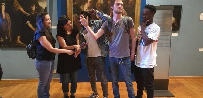 """Arriva anche a Caltanissetta il tour di """"Swapmuseum"""", un progetto per aprire musei e siti culturali alla creatività dei giovani"""