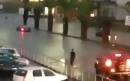 Gela, bomba d'acqua si abbatte sulla città: strade allagate e disagi per gli automobilisti