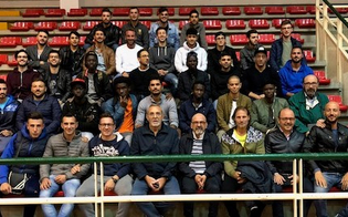Caltanissetta, calcio: la polisportiva Cusn presenta alla squadra l�allenatore Otello Ribellino