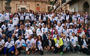 """Caltanissetta, celebrata l�ottava edizione della maratona """"Corri con me"""""""