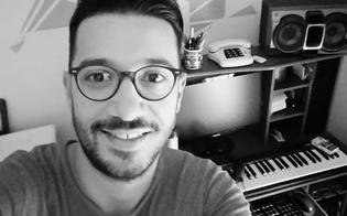 Francesco D'Aleo allo stadio Tomaselli canterà in occasione della partita della Nissa di domenica 4 novembre