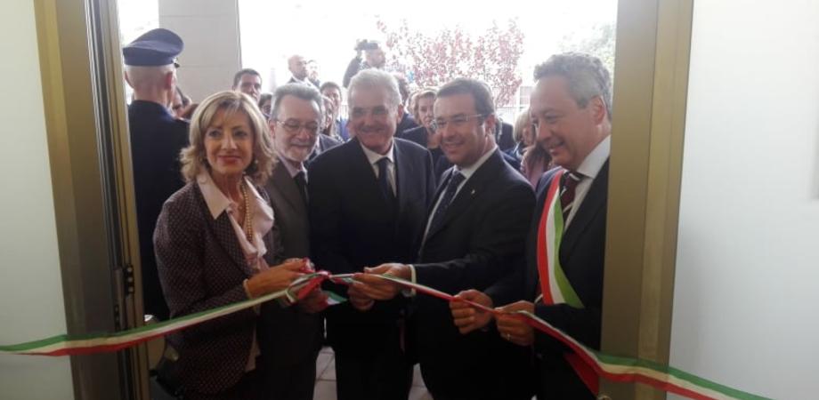 Caltanissetta, inaugurati i nuovi locali della Prefettura nell'immobile confiscato a Di Vincenzo