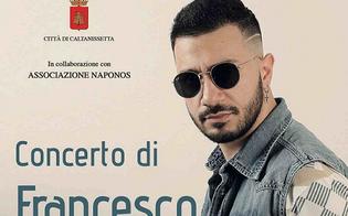Francesco D'Aleo in concerto giovedì 4 ottobre in corso Umberto: atteso il pienone in piazza
