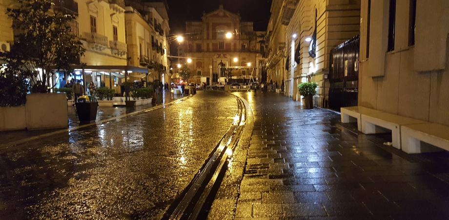 Caltanissetta, pioggia a dirotto: salta per la seconda volta il concerto di Francesco D'Aleo