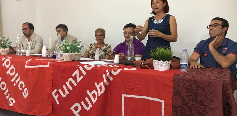 """La Cgil all'Asp di Caltanissetta: """"Non prenderemo parte all'incontro con il commissario straordinario"""""""