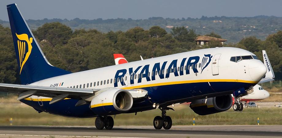 Nuove destinazioni di Ryanair da Trapani Birgi, si parte con diversi voli dal 29 marzo