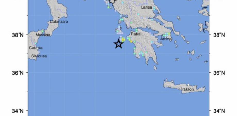 Terremoto in Grecia di magnitudo 6.8: paura anche in Sicilia. Rientra l'allerta tsunami