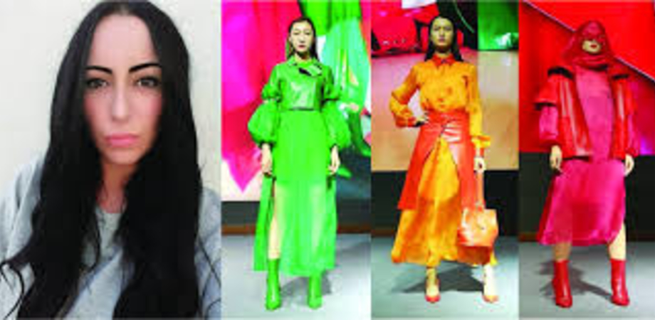 Giovane stilista nissena presenta le sue creazioni al Keqiao Fashion Week in China