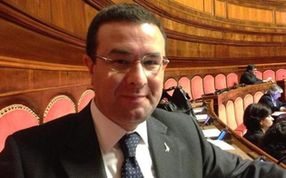 Il Sottosegretario all'Interno Stefano Candiani in visita a Caltanissetta