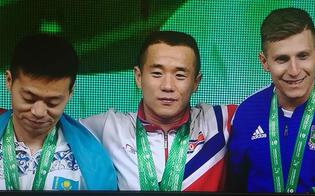 """""""Lasciatemi piangere, voglio godermi questo momento"""" Il nisseno Mirco Scarantino medaglia di bronzo ai mondiali di pesistica"""