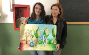 """Caltanissetta, tre studentesse vincono la sezione locale del concorso """"Un Poster per la pace"""""""
