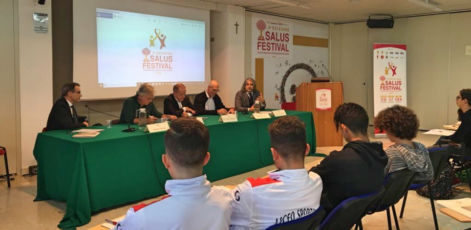 Al Salus Festival di Caltanissetta protagonisti lo sport, il cinema e i sani stili di vita