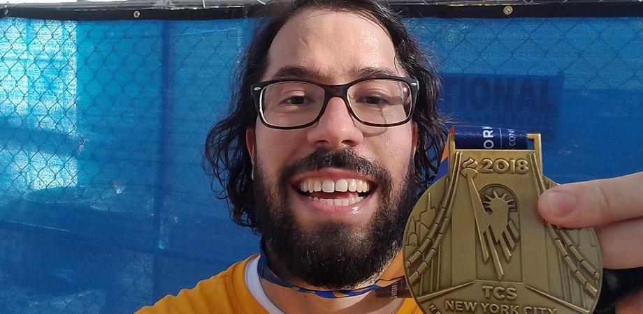 Il nisseno Andrea Milan alla maratona di New York: ottimo il suo tempo di gara