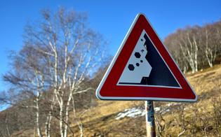 Pericolo caduta massi, chiuso provvisoriamente un tratto tra Sommatino e Ravanusa