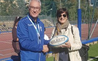 """Nissa Rugby: progetto didattico """"scuole in meta"""". Studenti entusiasti all�istituto """"Lombardo Radice"""""""