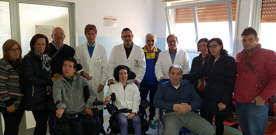 Ricarica pompe ITB, all'Hospice di San Cataldo un nuovo ambulatorio per i pazienti costretti sulla sedie a rotelle