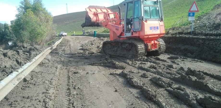 Marianopoli, l'amministrazione ringrazia l'Esa per aver eliminato fango e detriti