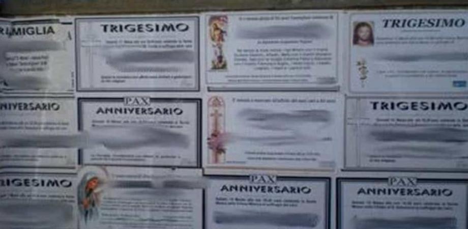 Serradifalco, imprenditore trova il suo nome tra i necrologi affissi nel paese: scatta la denuncia