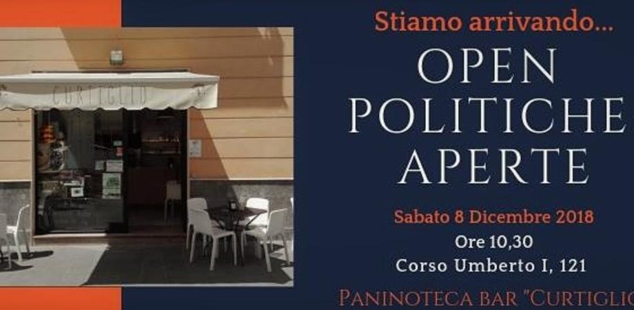 """A Caltanissetta nasce il Movimento """"Open politiche aperte"""", la presentazione in corso Umberto"""