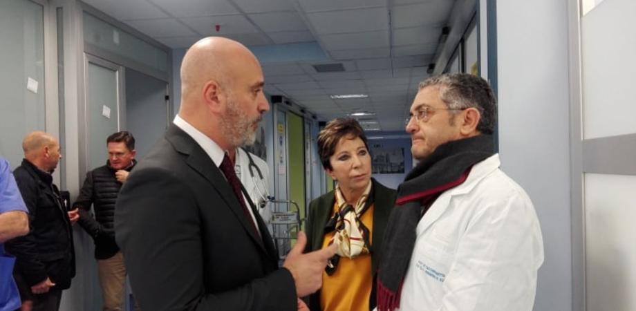 Velocizzazione nei ricoveri e abbattimento tempi di attesa, al Sant'Elia di Caltanissetta la rivoluzione del nuovo manager parte dal pronto soccorso