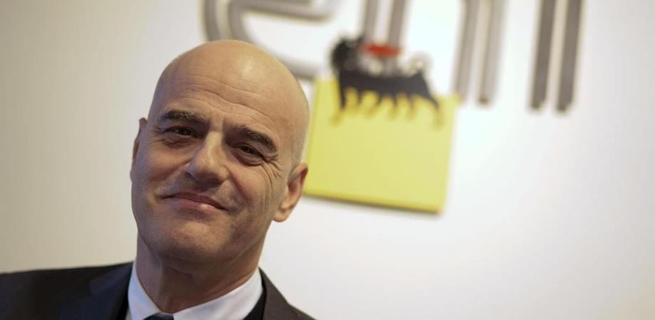 """Bioraffineria di Gela, Descalzi: """"E' un giorno molto importante per noi. Si tratta di un'eccellenza italiana"""""""