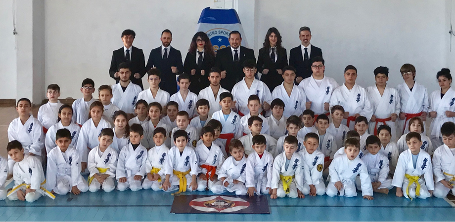 A Caltanissetta esami di Karate Kyokunshinkai per 72 piccoli atleti