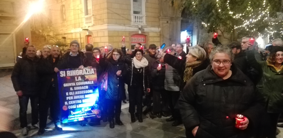 """Sit-in dei commercianti a Caltanissetta: """"Una città spenta. L'amministrazione comunale non accetta alcuna collaborazione"""""""