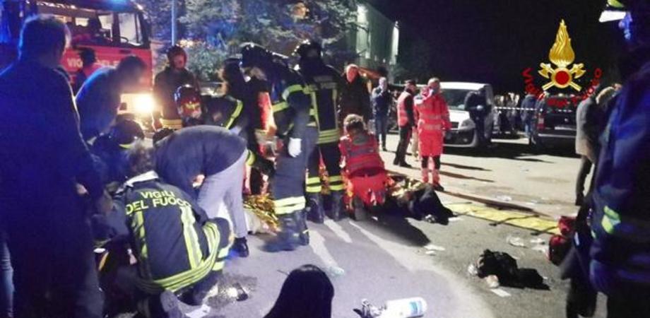 Morti in discoteca, identificato il minorenne che avrebbe spruzzato lo spray urticante