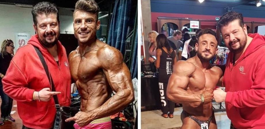 Body Building, alla Ludus Maximus di Ciampino ottimo piazzamento per due atleti della Fitness Club di Caltanissetta