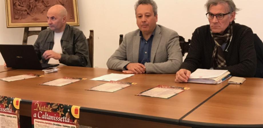 """Presentato il cartellone del """"Natale a Caltanissetta"""". Ecco il programma"""